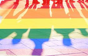 LGBTQ Rainbow Shadows